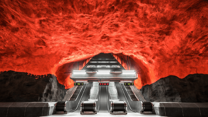 Subway Stations Around The World — Stockholm