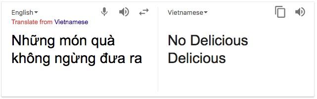 Google Translate fail