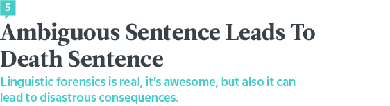 Language News In September — Death Sentence