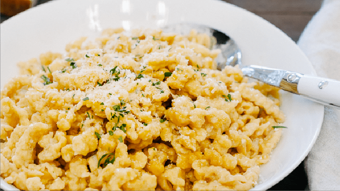 Brown Butter Pumpkin Spaetzle
