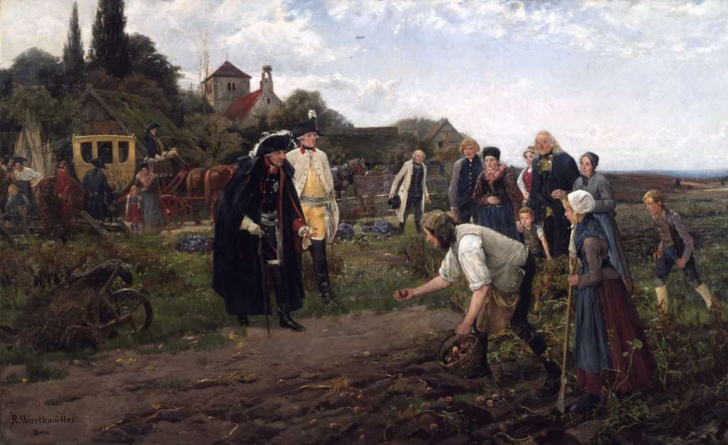 Potato History — Frederick The Great