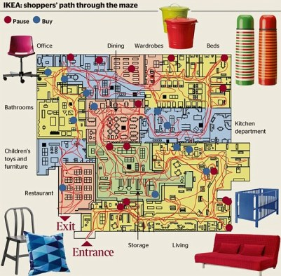 Americans Love Ikea — Ikea Map