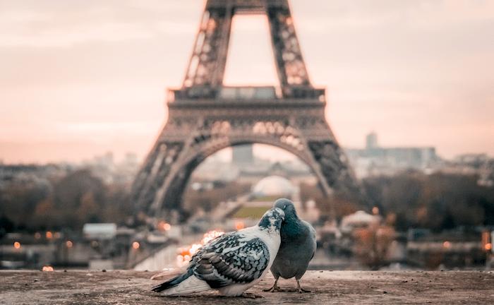 Paris est la ville des amoureux