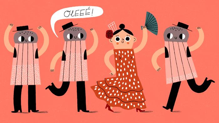 Hur man säger låter koppla in på spanska