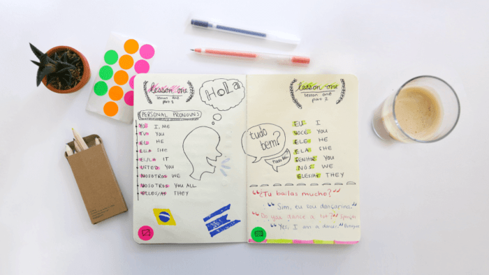 language journal