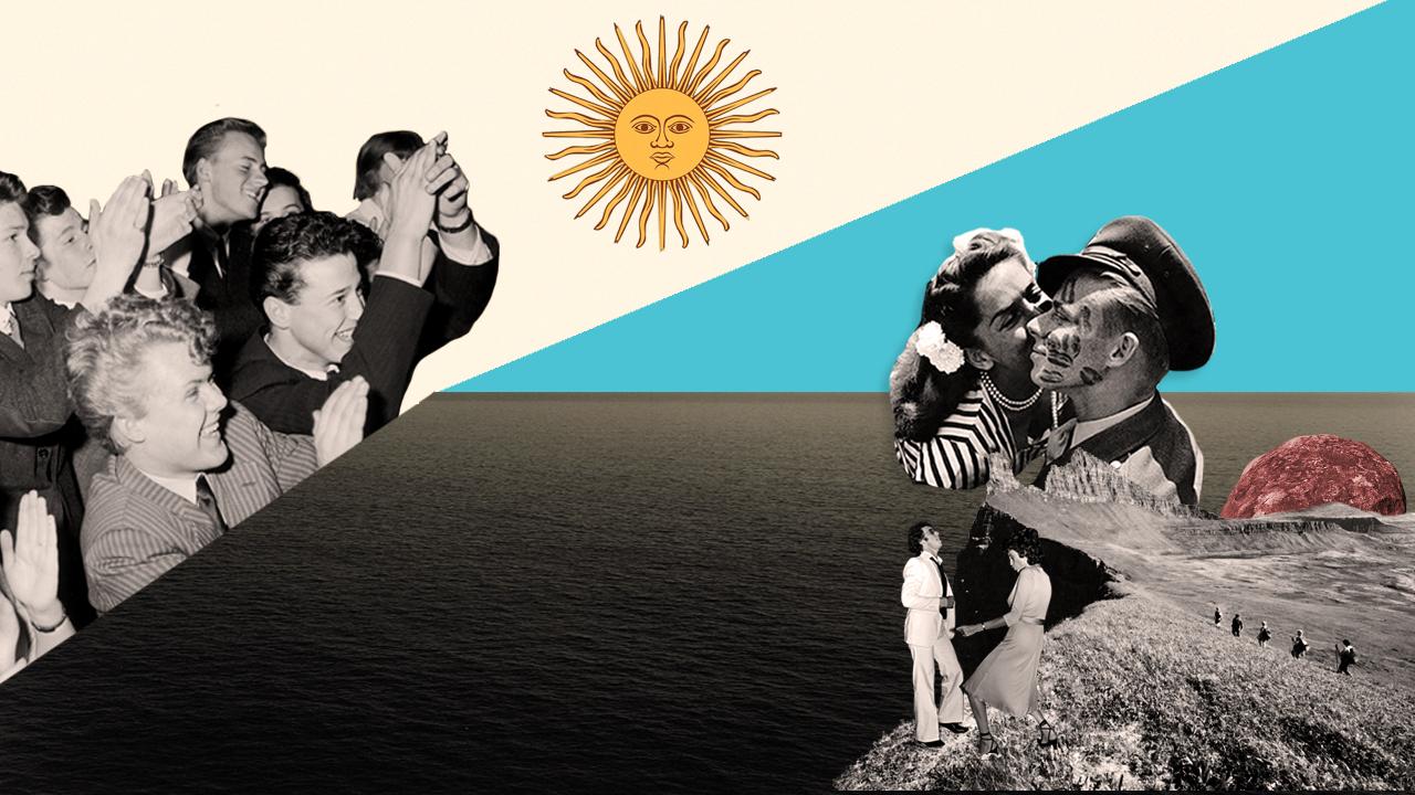 Besos en Argentina
