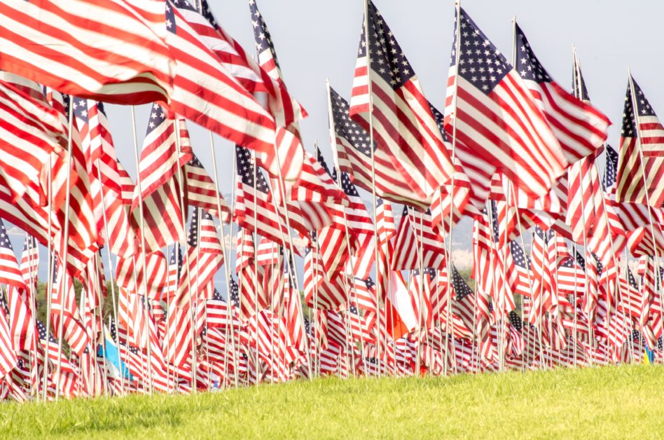 American Culture — Flags of the United States