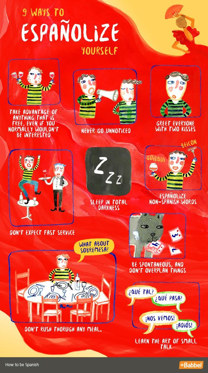 9 Steps To Españolize Yourself
