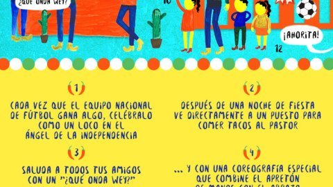 13 pasos para mexicanizarse