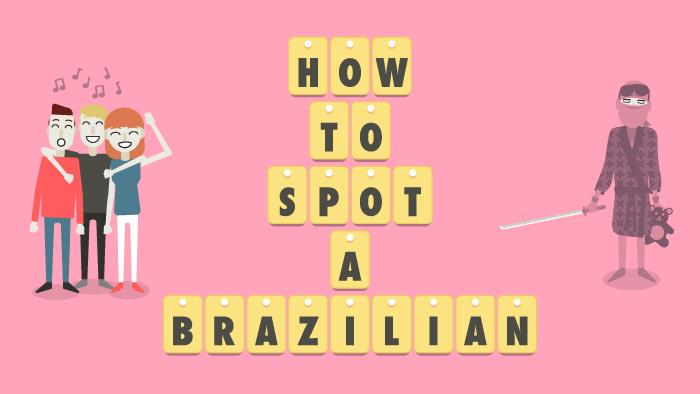 Voc fala ingls assim Como identificar um brasileiro falando