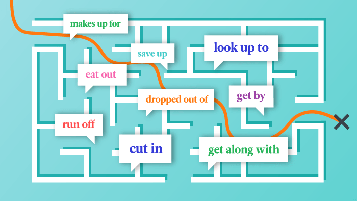 Finding Your Way Around Phrasal Verbs In English
