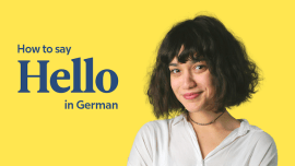 Hallo, And 17 Other Ways To Say Hello In German