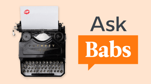 Ask Babs: I Have A Crush On Someone, But He Doesn't Speak My Language. How Do I Do This?
