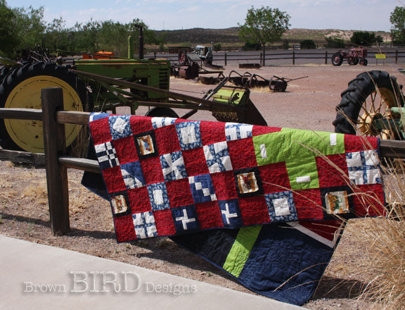 Tractor Quilt #3 with tractors
