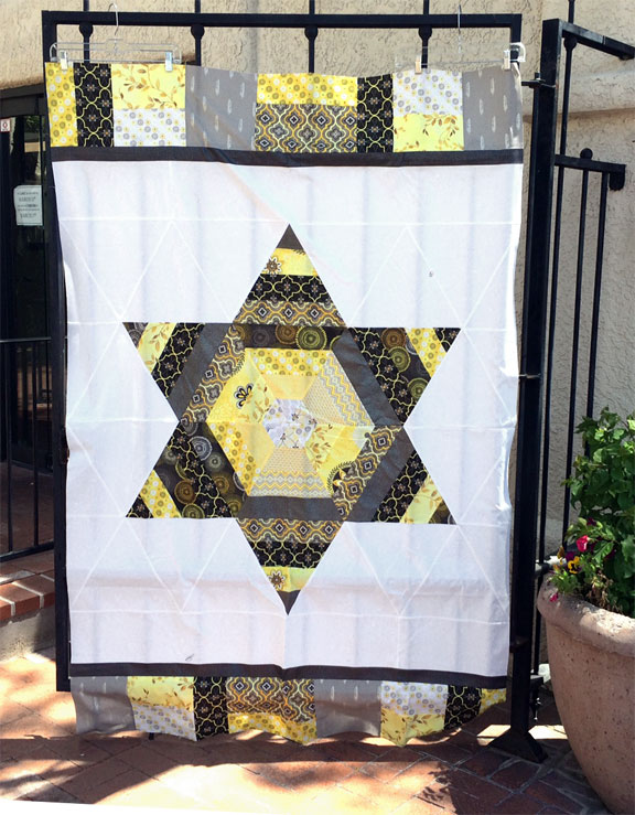 Scrappy Triangle Star Quilt