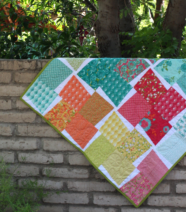 vintage windmill quilt top