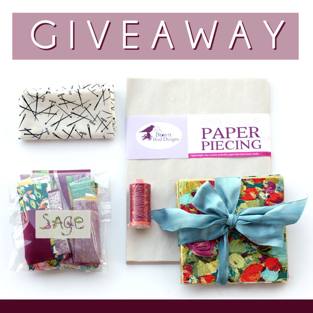 the transplant mini quilt giveaway