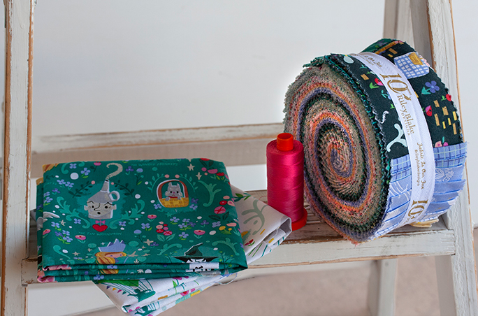 Dorothy's Journey Fabric