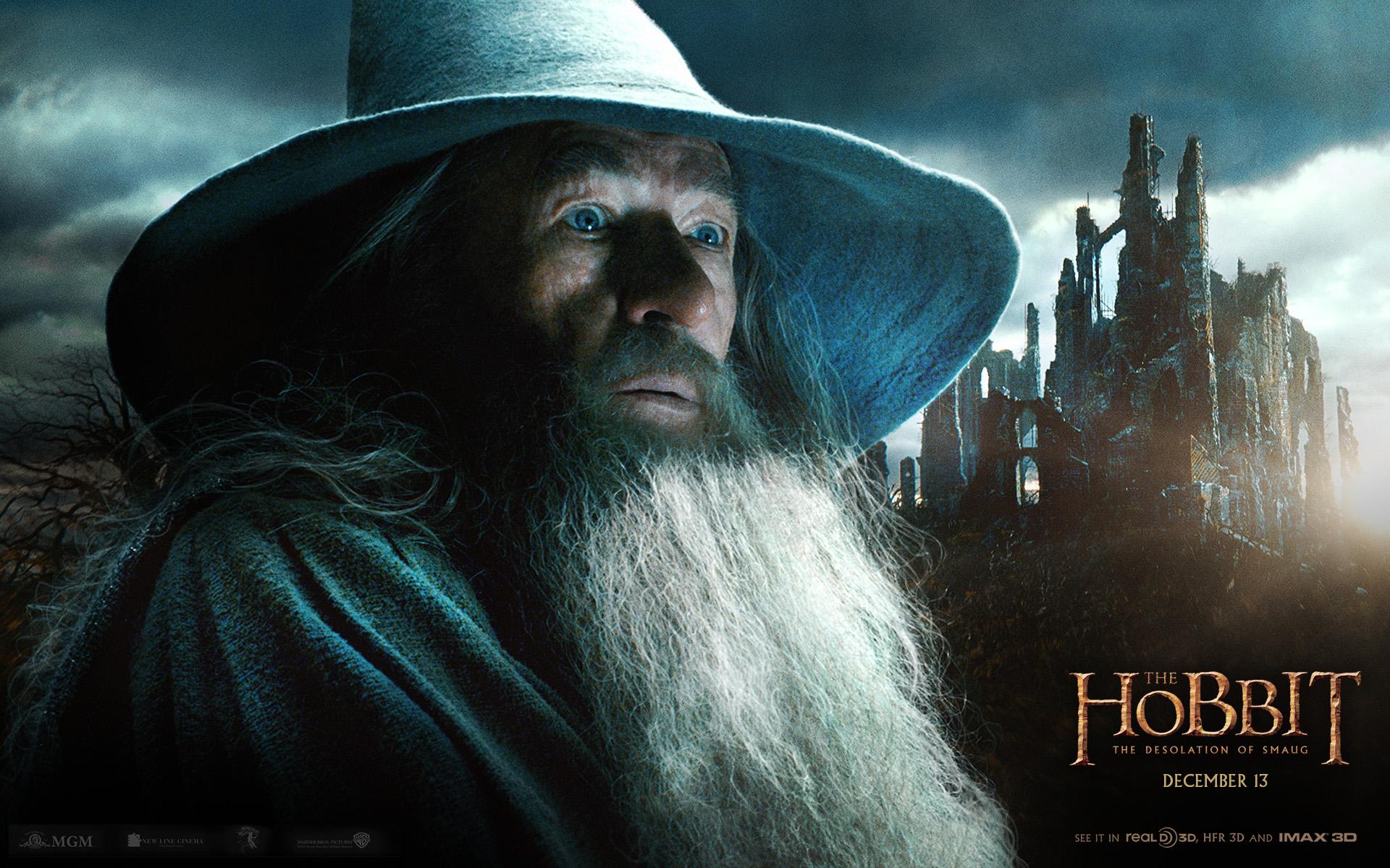 3d Live Wallpaper For Galaxy Y Ian Mckellen As Gandalf The Hobbit The Desolation Of