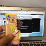 【メモ】ANAの機内でバレンタイデーにチョコレートもらった。