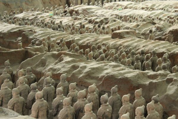 Xian, china, the forbidden city, Great Wall, Great Wall of China, terracotta warriors