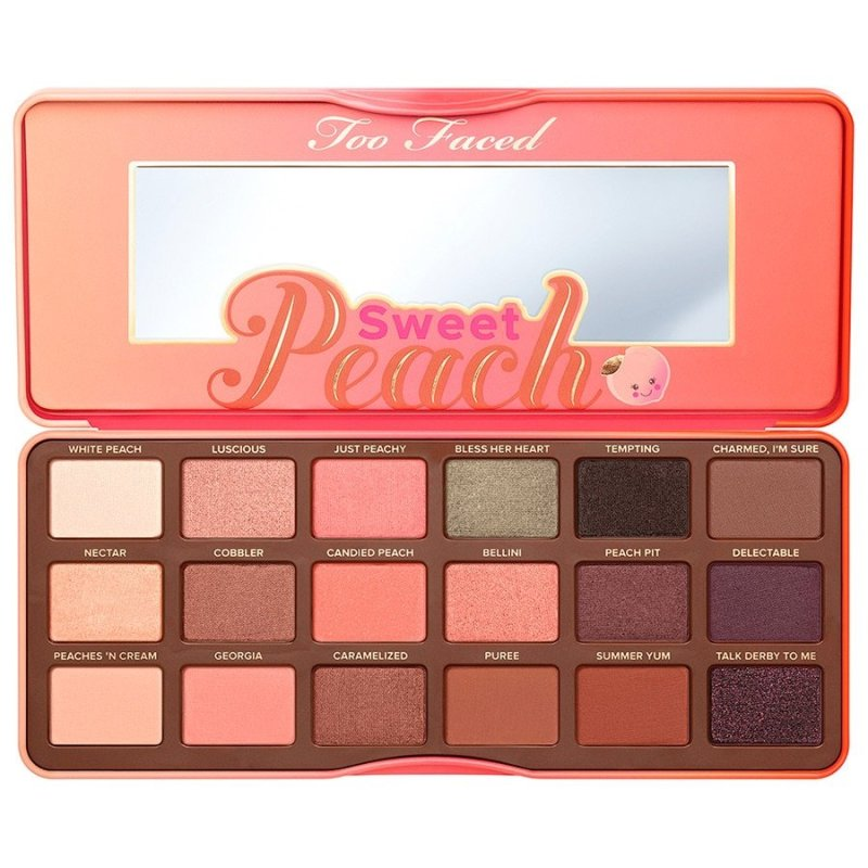 zoeva, cocoa blend, eyeshadow palette, best eyeshadow palette, disappointing eyeshadow, live lavishly, review, too faced, sweet peachh