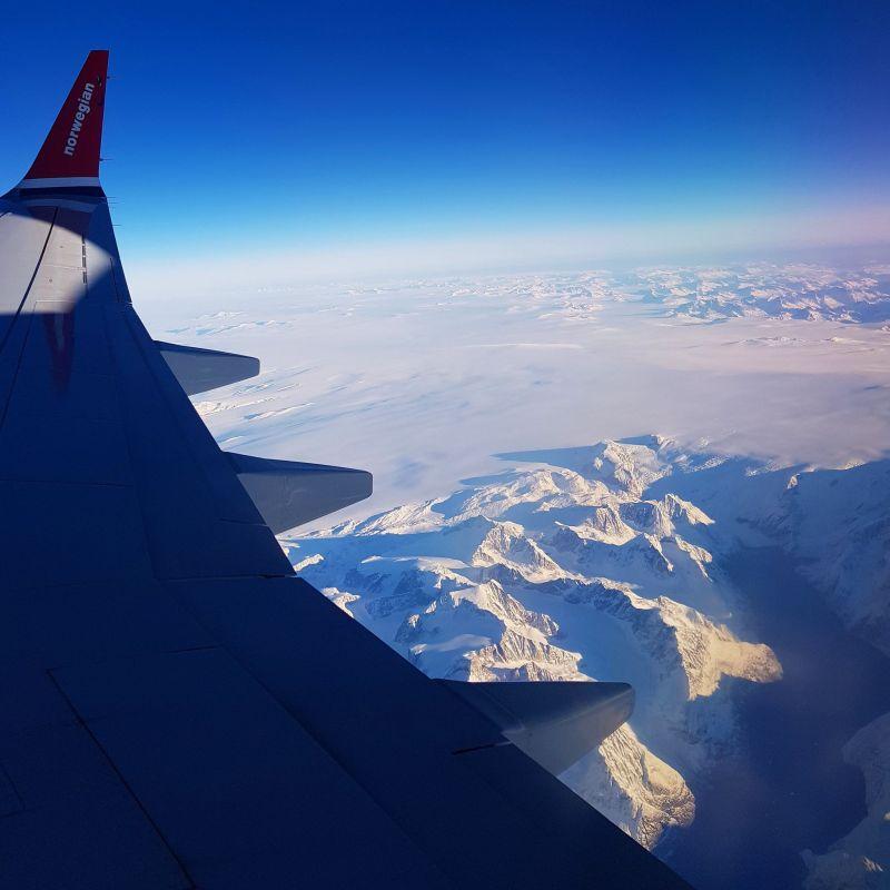 Greenland, New York, norwegian airlines
