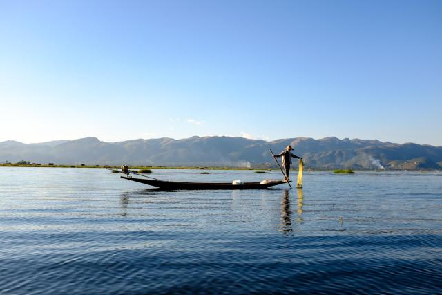 pecheur lac inle