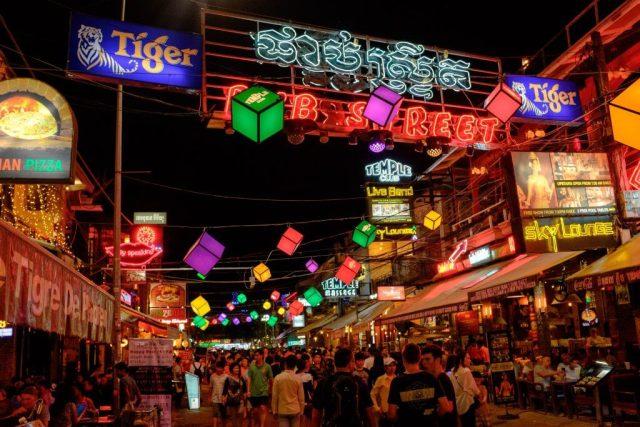 street pub Siem Reap