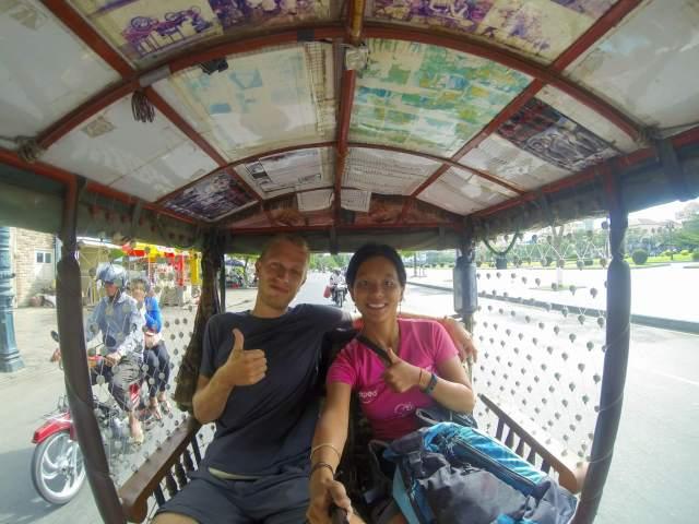 tuktuk Phnom Penh