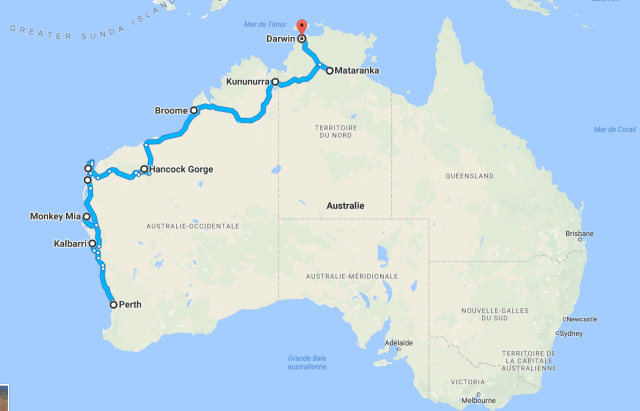 roadtrip australie