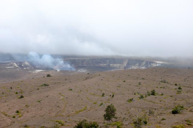 cratère Halema'uma'u