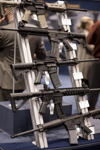 Rack of guns photo