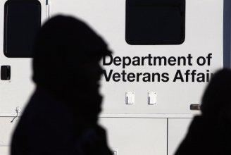 Veterans Affairs sign photo