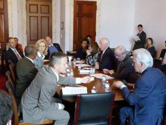 VA Misleads- meeting photo