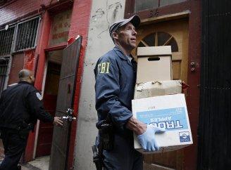 Leland Yee - FBI raid photo