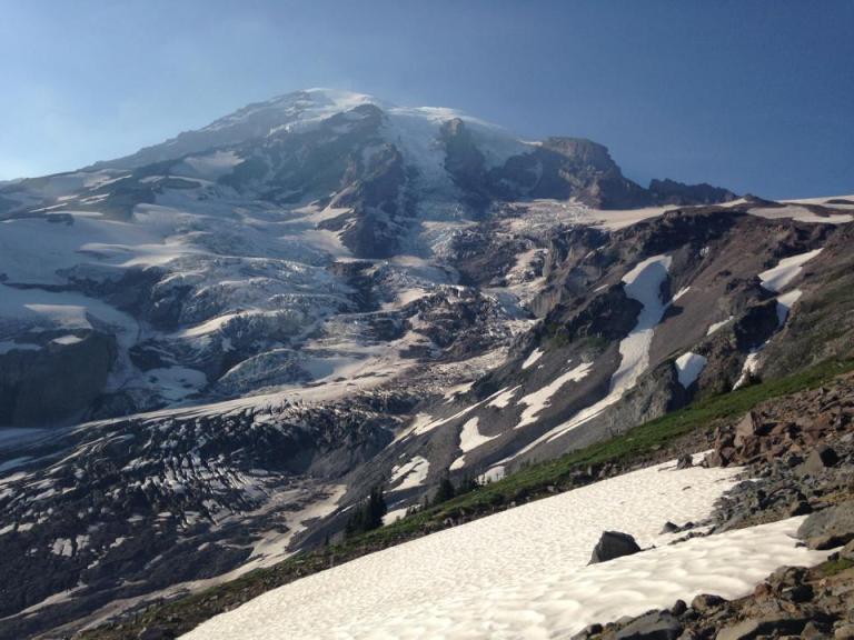 Bye bye beautiful mountain!