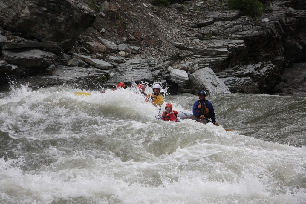 Rafting the Elk River in Canada. I can't believe I did this!