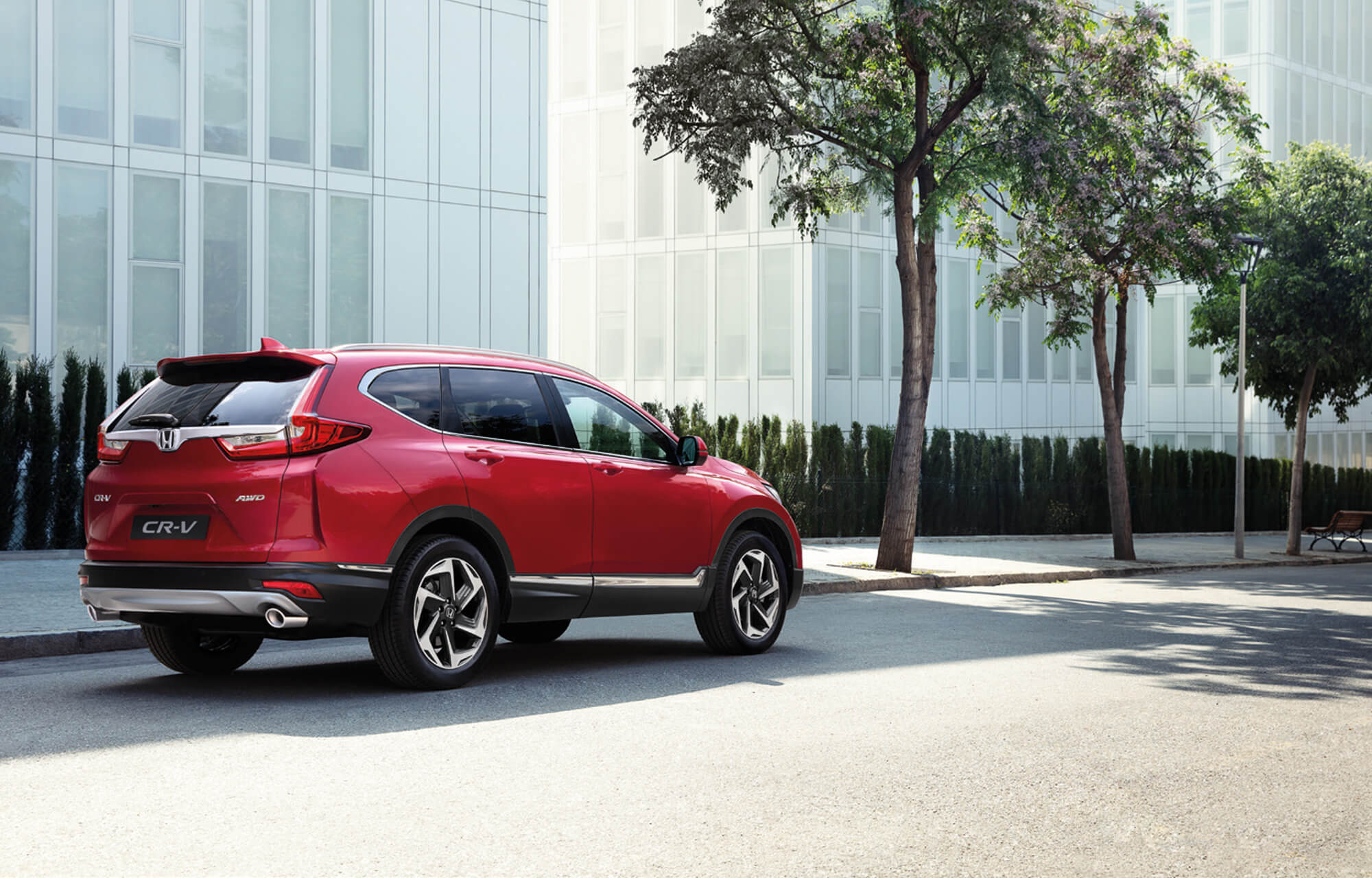hight resolution of explore the all new cr v