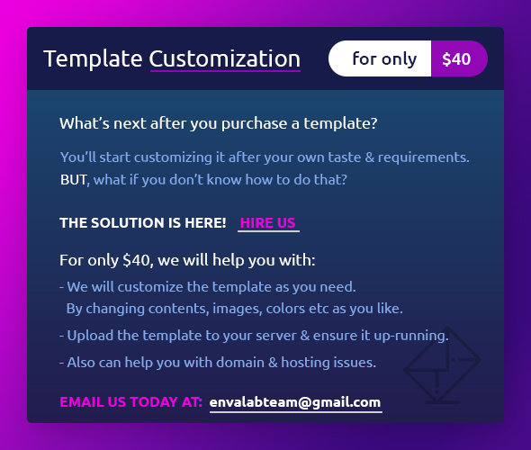 Template-Customization