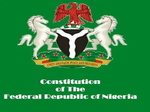 Image result for nigeria constitution