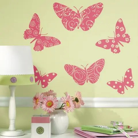 Making Large Butterfly Wall Art The Sunday Mail