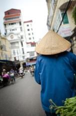 Street Vendor with Kone Head