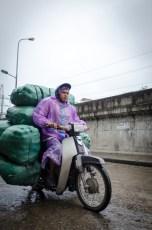 Bike with Heavy Load