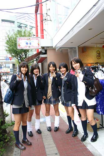 Kawaii Schoolgirls 169 Shirley Ye Japanese Schoolgirls Are