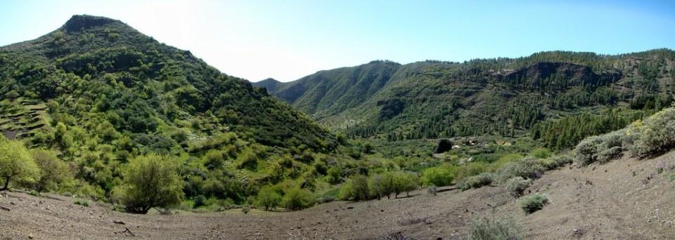 Barranco Guayadeque Gran Canaria senderismo 03