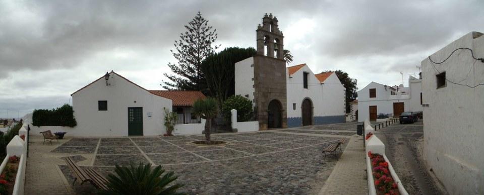 Telde Ermita de San Francisco en calle Porteria Barrio de San Francisco isla de Gran Canaria