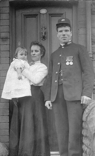 Door. 1910.   My maternal grandparents outside their home. 8…   Flickr