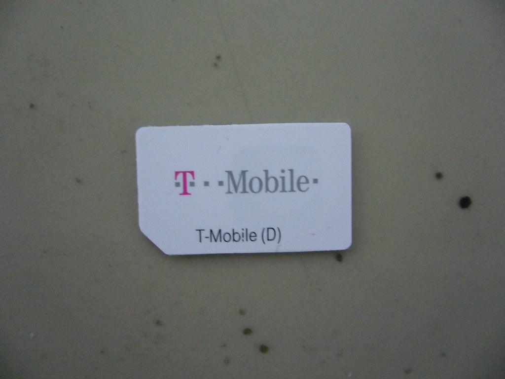 T-Mobile SIM Card   日本で入手可能な T-Mobile SIM Card これで私もドイツの攜帯番號…   Tommy K   Flickr