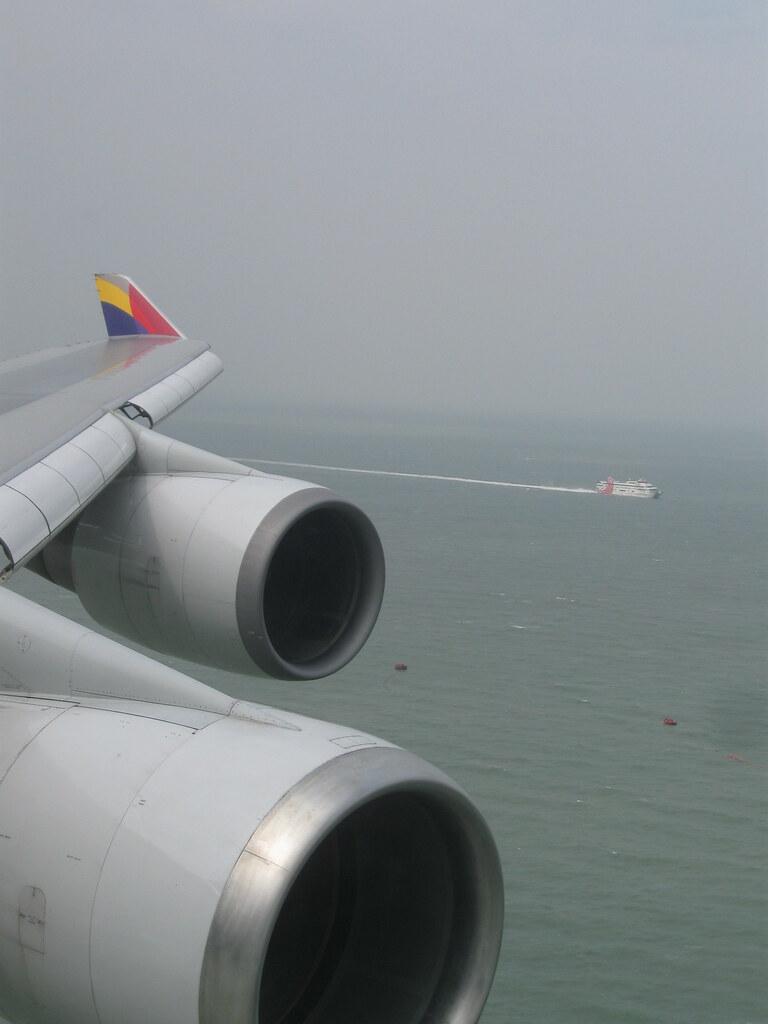 Asiana Airlines near Hong Kong airport   Asiana Airlines fli…   Flickr